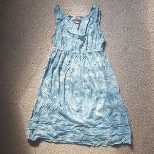 Blue Tie Dye Arizona Cover-Up/Dress